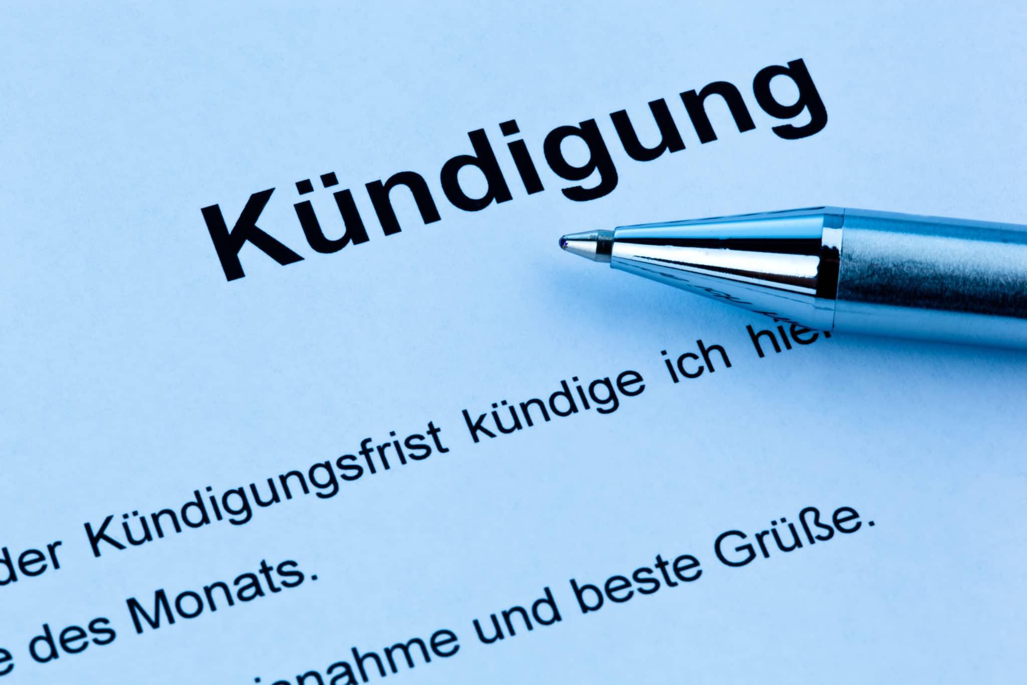 Die Kündigung Des Arbeitsvertrages Dr Radtke Partner