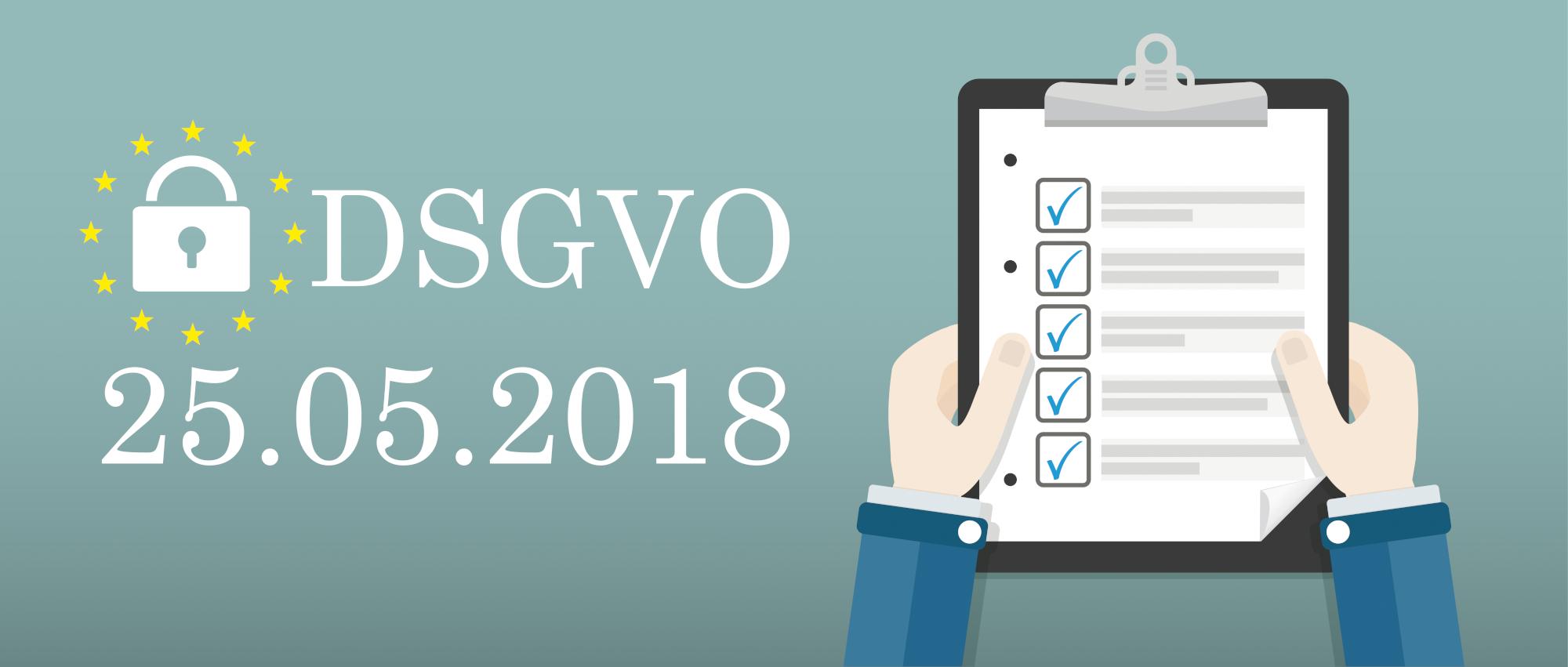 DSGVO Datenschutzgrundverordnung Clipbord Schloss